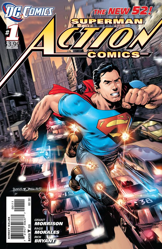 The Best of DC's New 52: #1, Action Comics