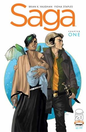 Saga – Brian K. Vaughan and Fiona Staples