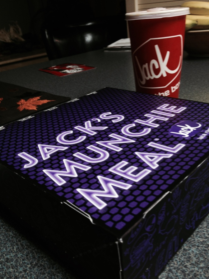 The Final Salvo: Jack in the Box's Munchie Meal
