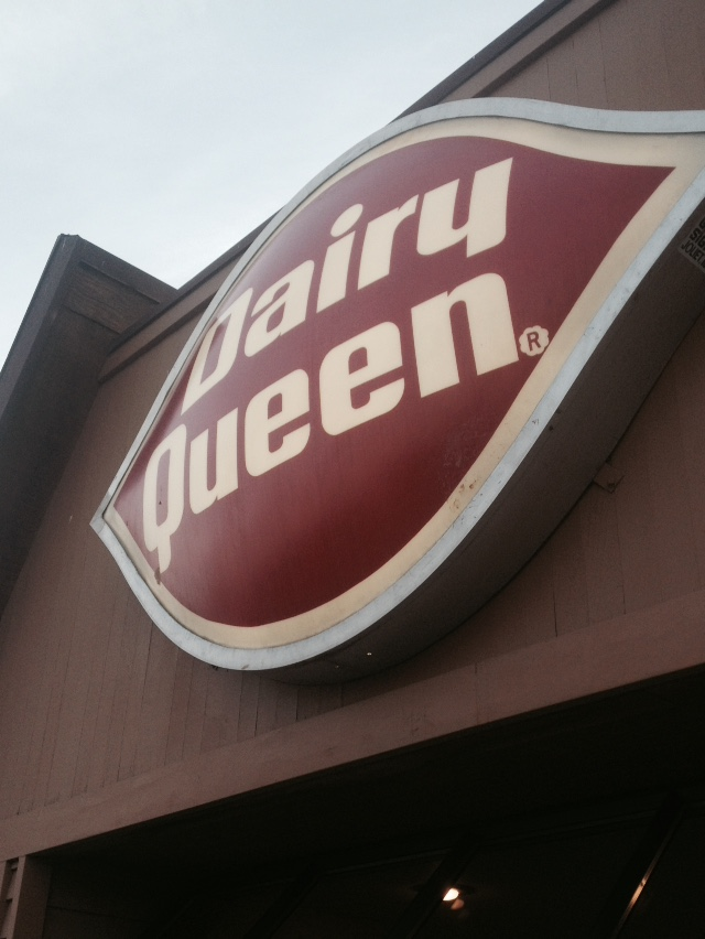 Fast Food Frenzy Day Three: Dairy Queen