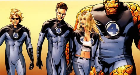 the Fantastic Four from Marvel's Ultimate universe