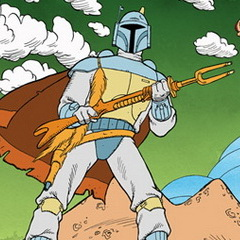 Boba Fett from The Holiday Special
