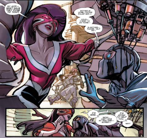 Betsy gets another crack at being Captain Britain, and saves Fantomex in the process