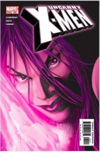 Psylocke returns in Uncanny X-Men #455 (2005)