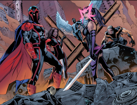 the current Uncanny X-Men