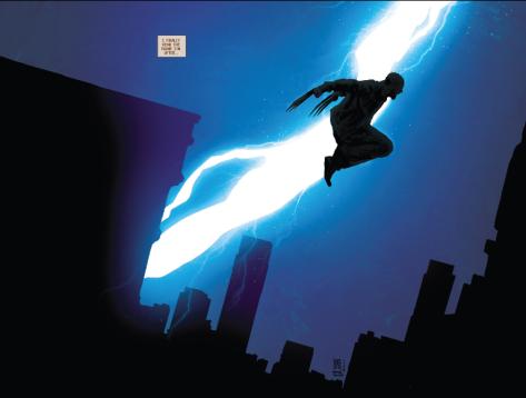 a nod to Miller's Dark Knight
