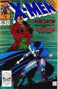 Psylocke undergoes her famous transformation in Uncanny X-Men 256 (1989)