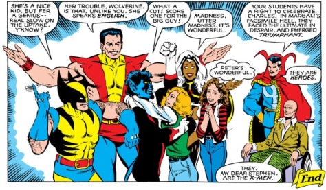 Kitty is smitten, X-Men Annual #4 (1980)