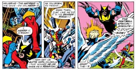 the first fastball special, X-Men #100 (1976)