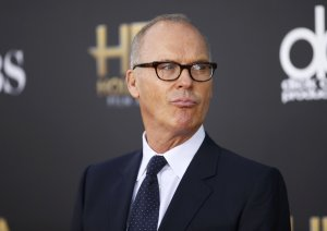 Actor Michael Keaton arrives at the Hollywood Film Awards in Hollywood