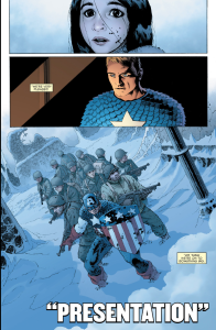 Whedon and Cassaday celebrate Cap in Sam Wilson #7