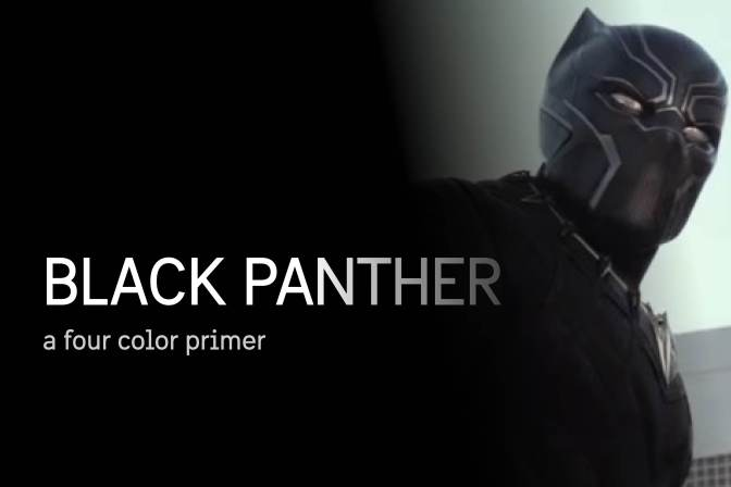 Four-Color Primer: The Black Panther