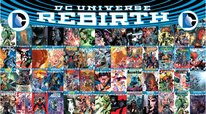 DC Rebirth - Ranking the first six months