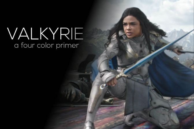 Four Color Primer: Valkyrie, Part 1