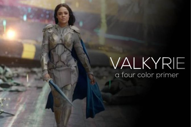Four Color Primer: Valkyrie, Part 3