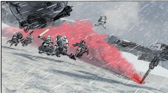 Star Wars: The Last Jedi – The Storms of Crait