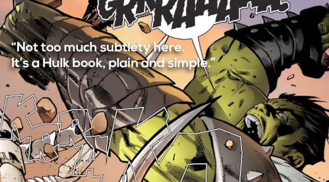 Ranking Marvel Legacy: 40 – 31