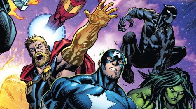 The Best of Marvel's Fresh Start #3 – Avengers