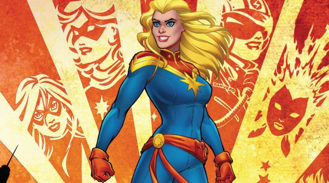 Captain Marvel by Thompson & Carnero